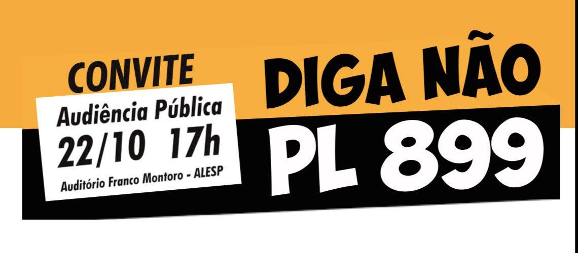 Servidores e deputados discutem Projeto do Calote na próxima terça (22/10) na Alesp. Compareça!