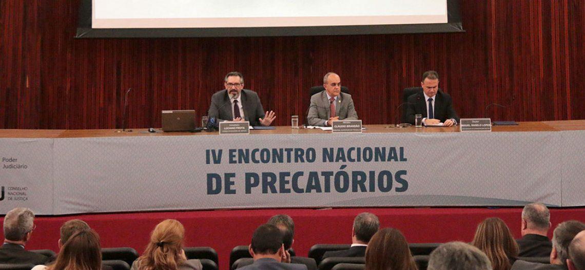 Diretor da Advocacia Sandoval Filho participa do IV Encontro Nacional de Precatórios em Brasília