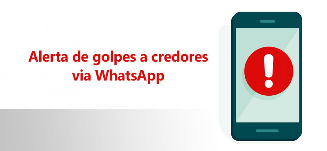 Atenção: golpistas apelam agora ao WhatsApp para enganar credores de precatórios usando o nome Sandoval Filho
