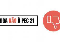 Consulta pública sobre PEC 21 ultrapassa 4 mil votos. É a sua vez de dizer não ao calote!