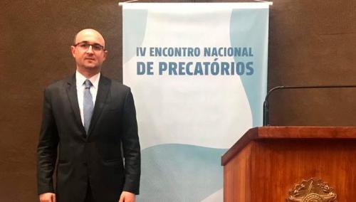 O advogado Messias Falleiros participou do IV Encontro Nacional de Precatórios realizado em Brasília (DF).