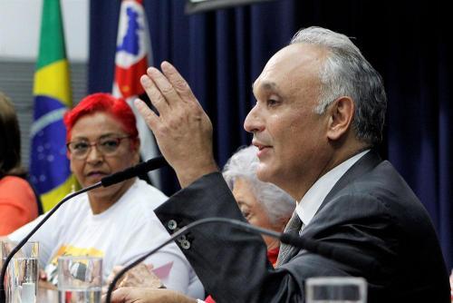 Antônio Roberto Sandoval Filho na Audiência Pública
